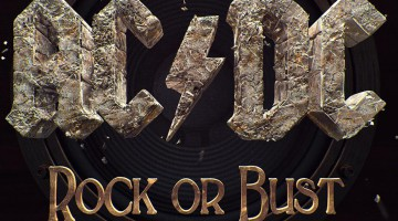 Capa AC/DC - Rock or Bust. 2014.