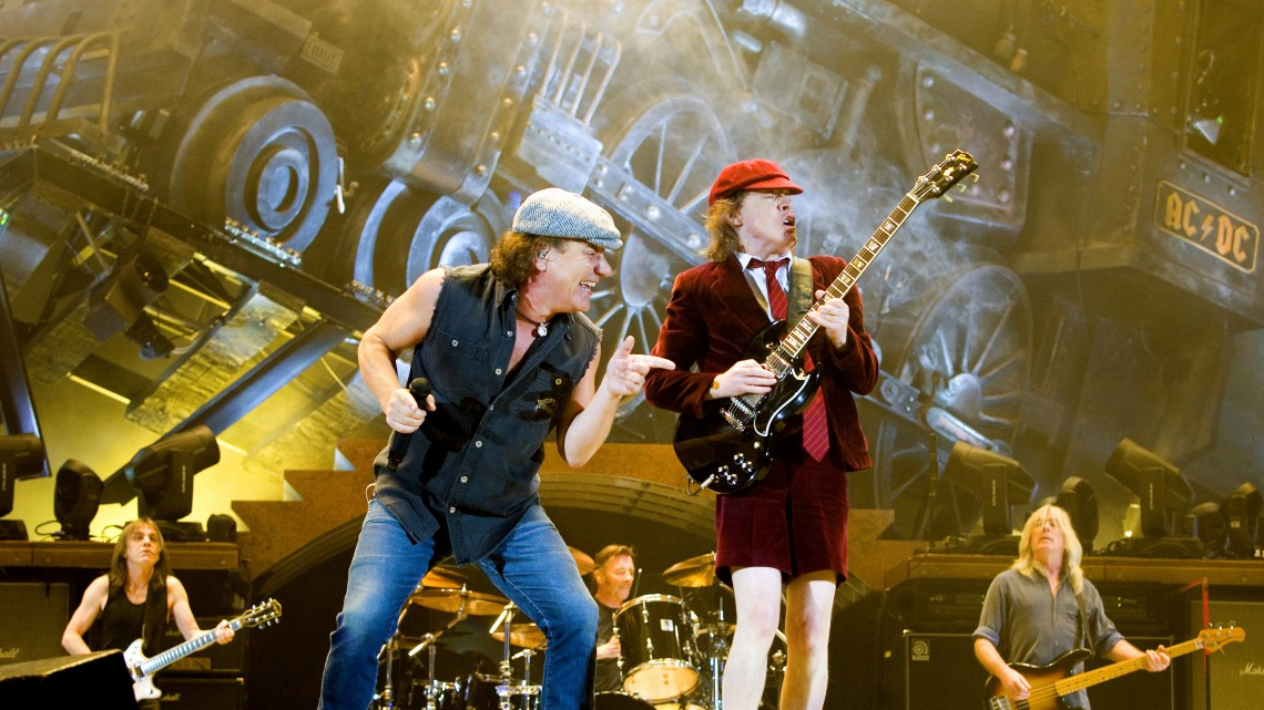 AC/DC. Black Ice Tour. 2008.