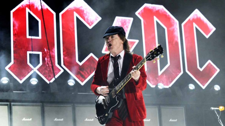 Angus Young. Coachella 2015.