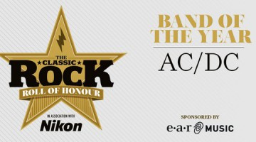 "AC/DC é a banda do ano no ""Classic Rock Roll Of Honour"""