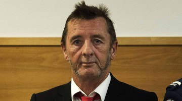 Phil Rudd. Abril 2015.