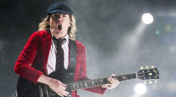 Angus Young. Coachella.