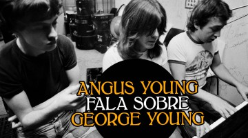 Angus Young, Malcolm Young e George Young