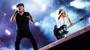 Brian Johnson e Angus Young - ROCK OR BUST TOUR