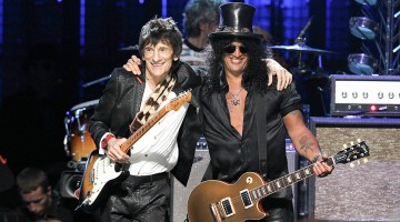 Ronnie Wood e Slash
