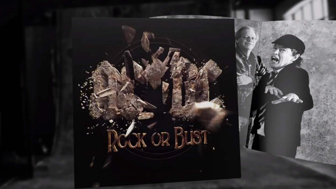 Making of da Capa AC/DC Rock or Bust. 2014.