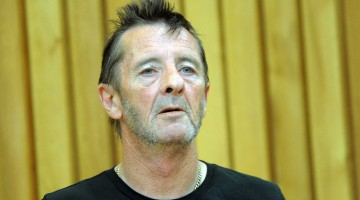 AD/DC drummer Phil Rudd appears at Tauranga High Court