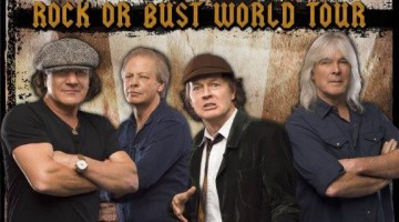 Poster da turnê Rock or Bust
